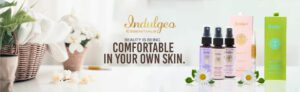 Indulgeo Beauty Products Banner
