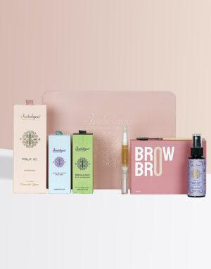 Everyday Glow Box-Squalane+Eye Gel+Brow Bro+Pout It+ABJ Mist