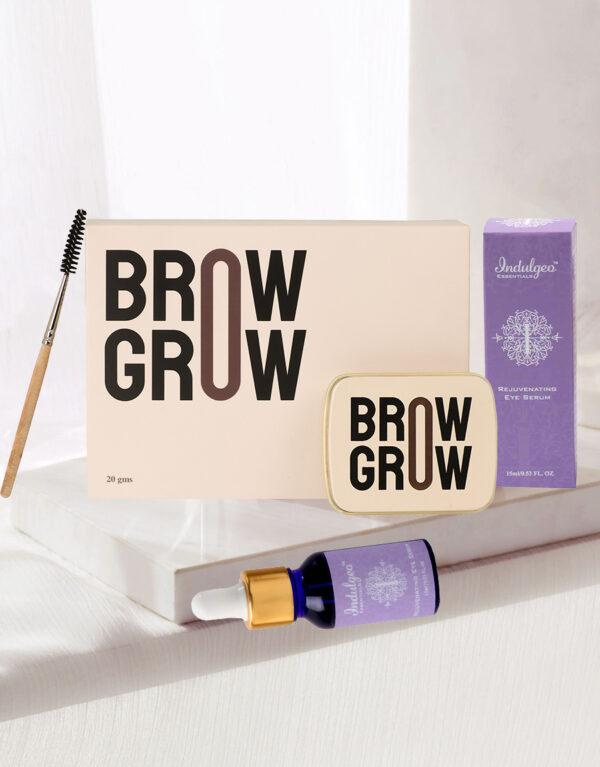 Lash & Brow Care Combo-Brow Grow+Rejuvenating Eye Serum