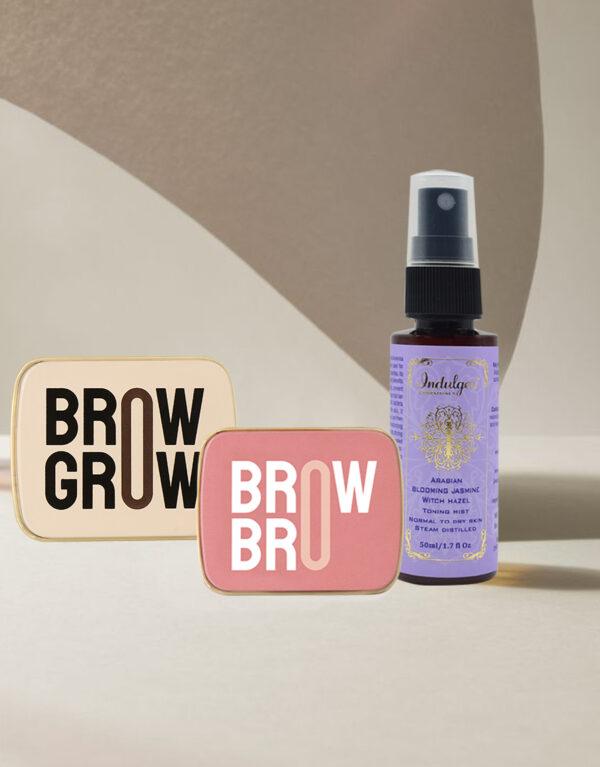 Ultimate Brow Care Combo- Brow Bro+ABJ Mist+Brow Grow